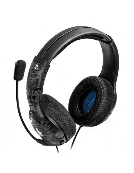 -3202-PS4 - LVL40 Wired Negro Camo Auricular Gaming Licenciado (PS4/5)-0708056066437