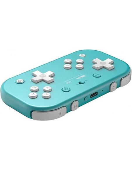 -3582-Switch - Mando Wireless Switch Lite - Azul 8bitdo (Switch - PC)-6922621501091