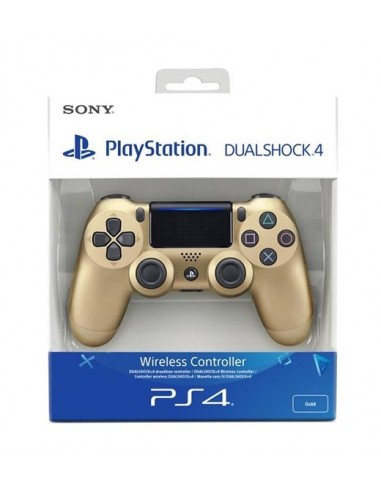3623-PS4 - Mando DualShock 4 Dorado Edicion Nueva-0711719895350