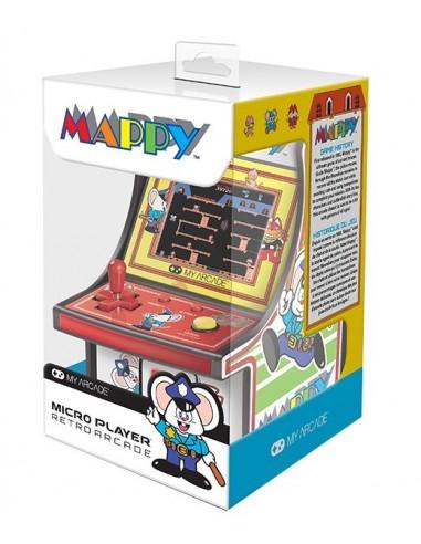 3643-Retro - My Arcade Micro Player Retro Arcade Mappy-0845620032242
