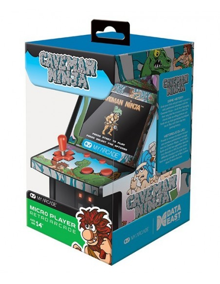 -3636-Retro - My Arcade Micro Player Retro Caveman Ninja-0845620032181