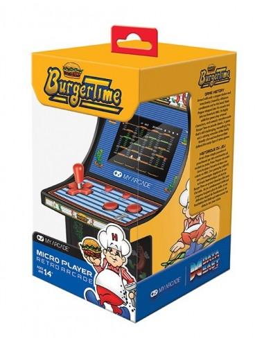 3640-Retro - My Arcade Micro Player Retro Arcade Burger Time-0845620032037
