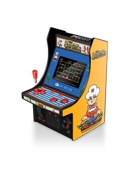 -3640-Retro - My Arcade Micro Player Retro Arcade Burger Time-0845620032037