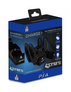PS4 - Charge+ Twin Charging...