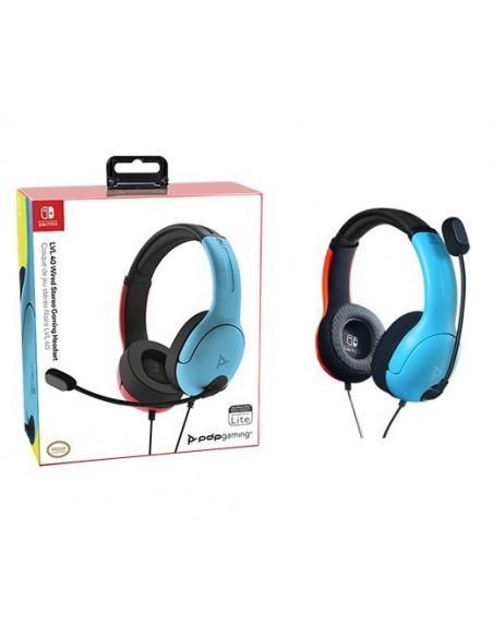 -3320-Switch - LVL40 Wired Azul y Rojo Auricular Gaming Licenciado-0708056066826