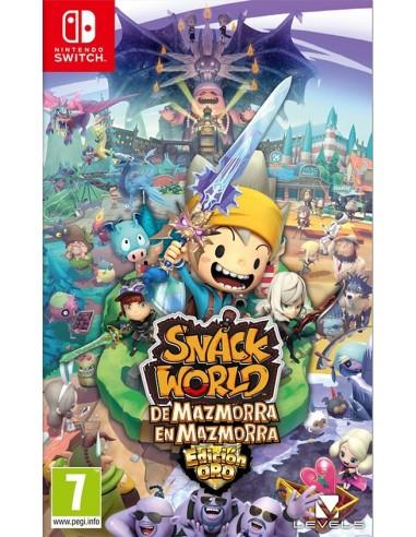 3699-Switch - Snack World: De Mazmorra en Mazmorra-0045496423681