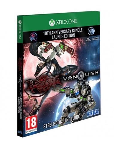 3740-Xbox One - Bayonetta & Vanquish 10th Anniversary Pack Ed Limitada-5055277036431