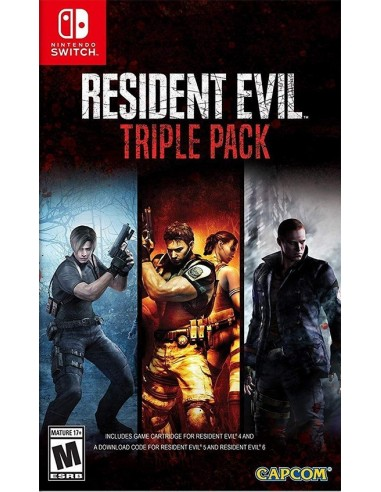 3760-Switch - Resident Evil Triple Pack - Import - USA-0013388410132