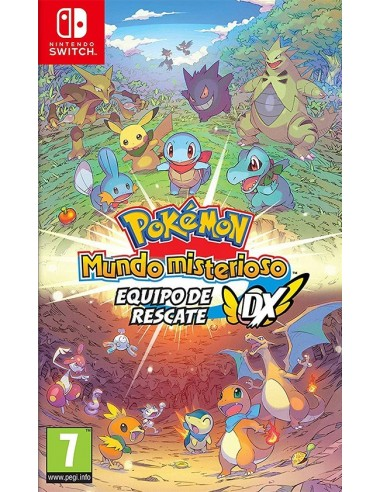 3829-Switch - Pokemon Mundo Misterioso: Equipo de Rescate DX-0045496426064