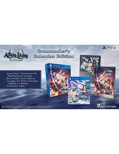 3455-PS4 - Azur Lane: Crosswave Commander's Calendar Ed.-5060112432941