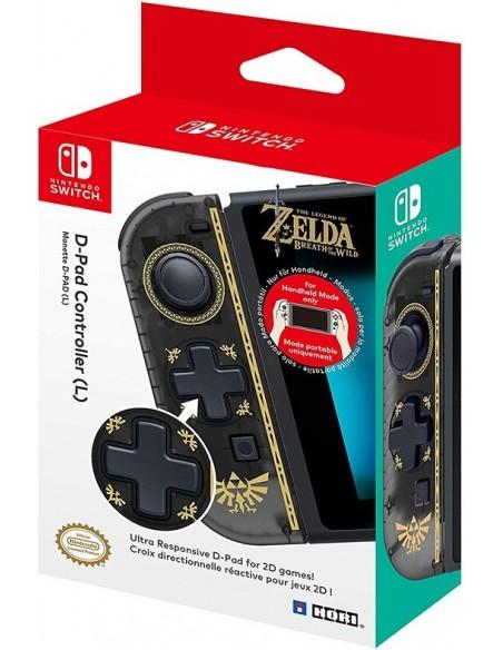 -3882-Switch - Controlador D-Pad Zelda Joy-Con Izquierdo-4961818029682