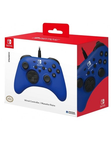 3872-Switch - Horipad Azul Wired Controller-0873124007497