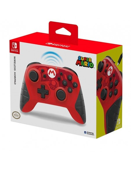 -3884-Switch - Horipad Mario Wireless Controller-0873124008739