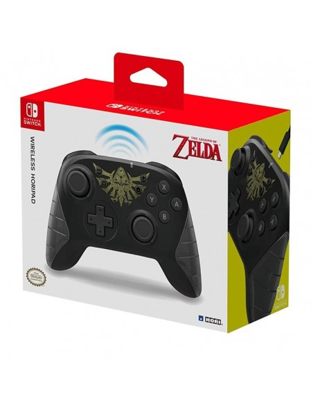-3869-Switch - Horipad Zelda Wireless Controller-0873124008746