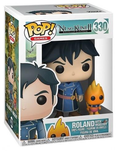 3906-Merchandising - Figura Funko Roland & Higgledy Ni No Kuni II 9cm-0889698270168
