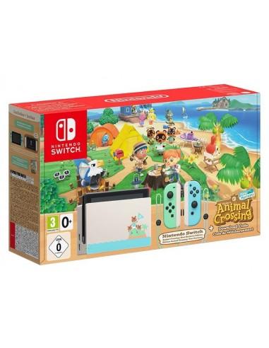 3925-Switch - Nintendo Switch Consola + Animal Crossing Ed. Limitada-0045496453152
