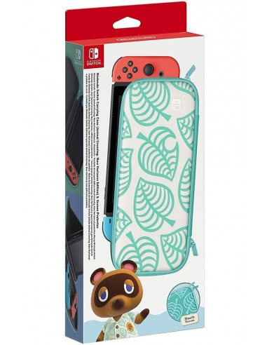 3926-Switch - Switch Set Accesorios Animal Crossing (Funda +Protector LCD)-0045496431365