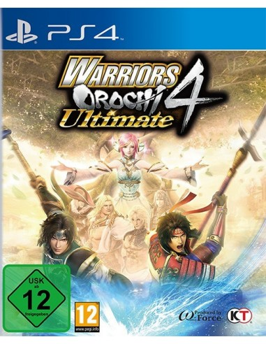 3451-PS4 - Warriors Orochi 4 Ultimate-5060327535772