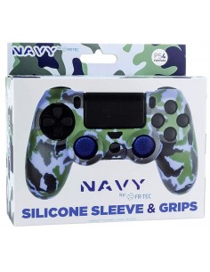 PS4 - Silicone + Grips Camo...