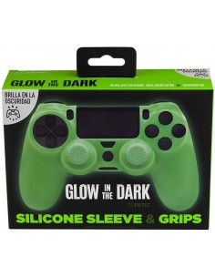 PS4 - Silicone + Grips Glow...
