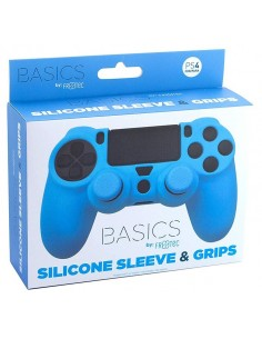 PS4 - Silicone + Grips Blue...
