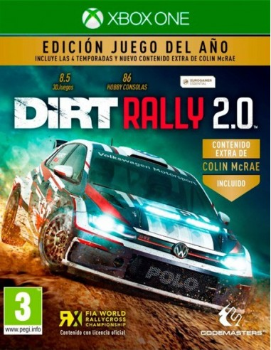 4123-Xbox One - DiRT Rally 2 Edicion Juego del Año-4020628725600