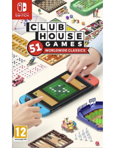 4196-Switch - Clubhouse Games: 51 Worldwide Classics-0045496426354