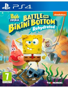 PS4 - Bob Esponja Battle...