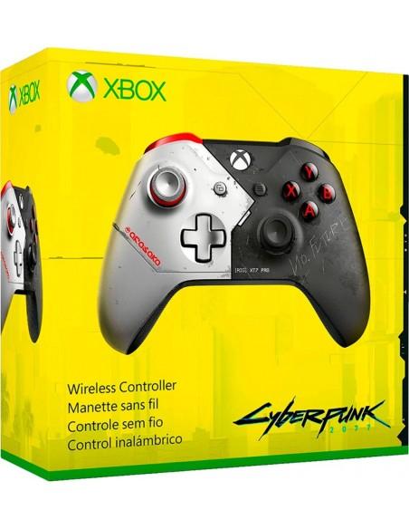 -4244-Xbox One - Mando Wireless Cyberpunk 2077 Edicion Especial-0889842464818