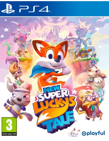 4289-PS4 - New Super Lucky's Tale-5060690791508