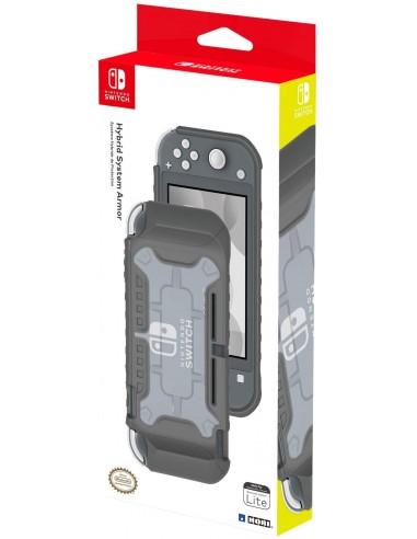 4291-Switch - Carcasa Hibrida Hori Gris Switch Lite-0873124008715
