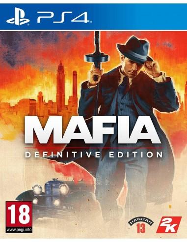 4382-PS4 - Mafia I: Edición Definitiva-5026555428194