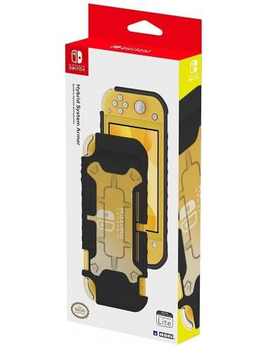 4292-Switch - Carcasa Hibrida Hori Negra Switch Lite-0873124008395