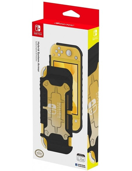 -4292-Switch - Carcasa Hibrida Hori Negra Switch Lite-0873124008395