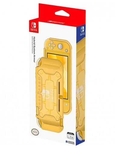 4290-Switch - Carcasa Hibrida Hori Amarilla Switch Lite-0873124008692
