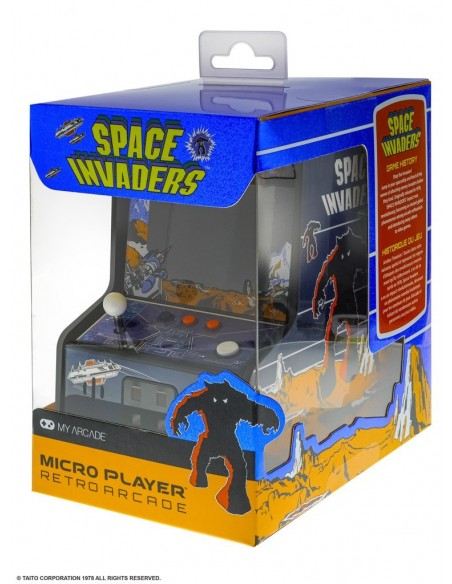 -4436-Retro - Consola Retro Micro Player Space Invaders-0845620032792