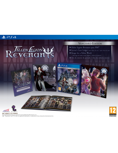 4534-PS4 - Fallen Legion Revenants Vanguard Edition-0810023036234