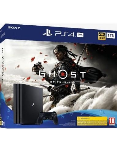 4569-PS4 - PS4 Consola Pro 1TB + Ghost of Tsushima-0711719384809