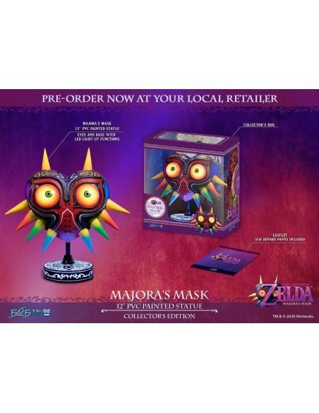 -4554-Figuras - Figura Majora's Mask The Legend of Zelda Ed. Col. 30cm-5060316622742