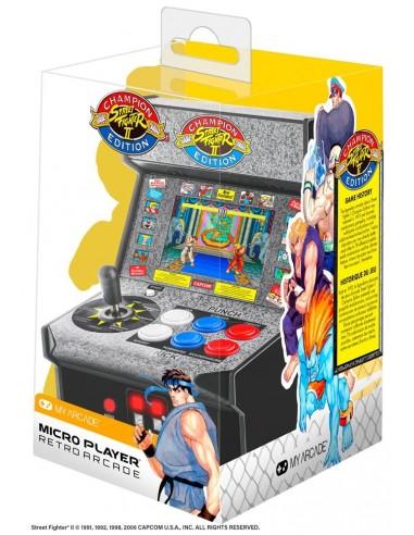 4755-Retro - Consola Retro Micro Player Street Fighter II-0845620032839