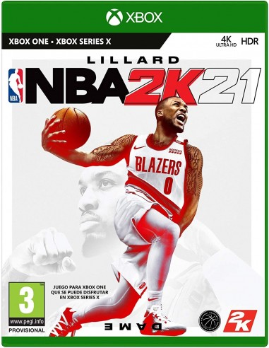 4588-Xbox One - NBA 2K21-5026555363945