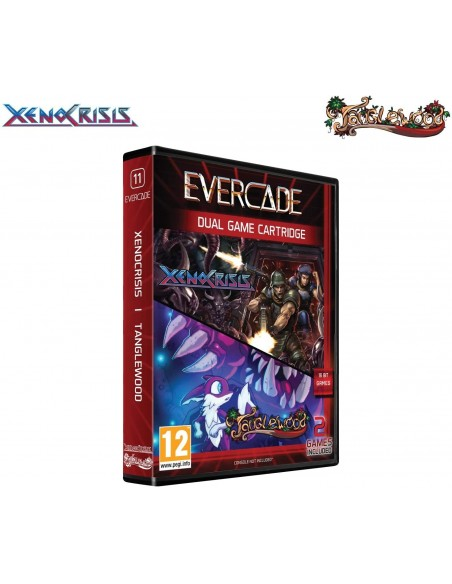 -4561-Retro - Cartucho Evercade Xeno Crisis/Tanglewood Dual Game-5060690791485