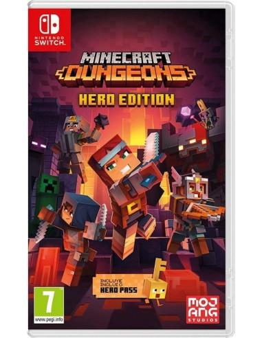 4865-Switch - Minecraft Dungeons Hero Edition-0045496426200