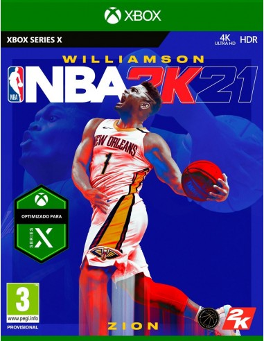 4585-Xbox Series X - NBA 2K21-5026555364256