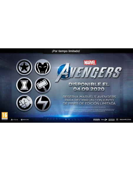 -3990-PS4 - Marvel's Avengers Deluxe Edition-5021290084971