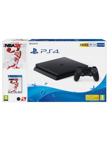 4896-PS4 - PS4 Consola 500GB + NBA 2K21-8431305029823