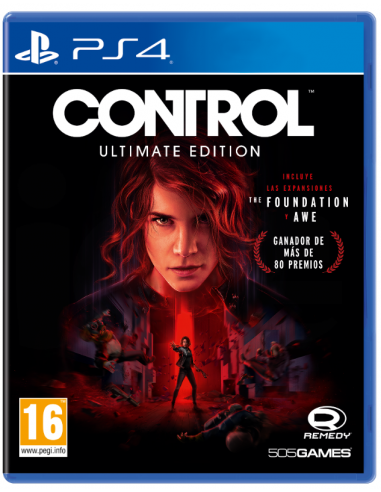 4958-PS4 - Control Ultimate Edition-8023171044941