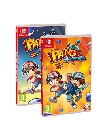 4943-Switch - Pang Adventures Buster Edition-8437020062220