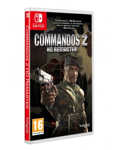 4941-Switch - Commandos 2 HD Remaster-4020628712570
