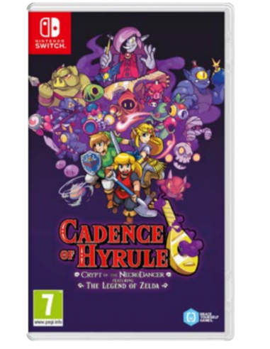 4972-Switch - Cadence of Hyrule - Crypt of the NecroDancer Ft Zelda Comple-0045496426613